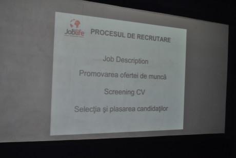 Job4life informeaza tinerii